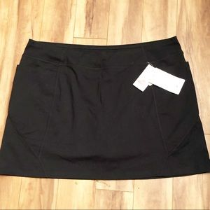 Athleta | NWT Black Excursion Skort